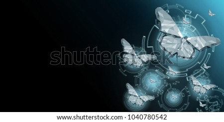 Background of beautiful abstract Business transformation innovation. For digital technology vision. Suitable for imply with success future business growth concept. Display on copy empty space