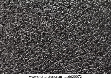 background of black leather