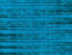 Background of blue wooden planks board texture