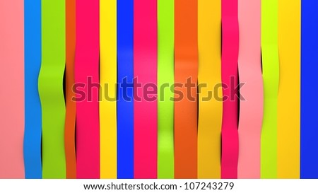 background of bright colorful glossy paper