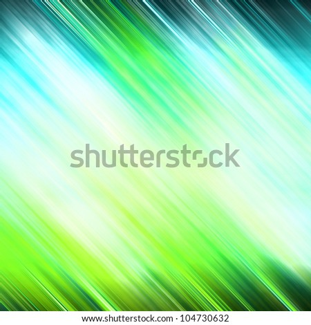background of bright green light