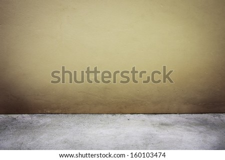 Background of cement wall and floor texture