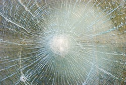 background of cracked glass