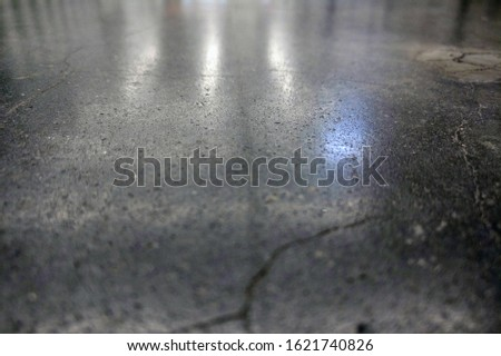 Background of dirty concrete floor with dust and scratches