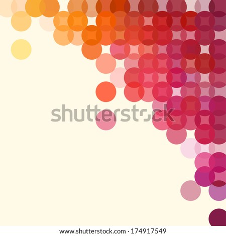 Background of geometric shapes. Colorful mosaic pattern. Retro triangle background