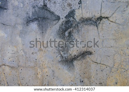 background of gray cement wall texture #412314037