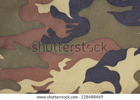 background of green camo pattern