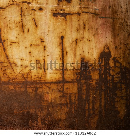 Background of grunge metal plate.