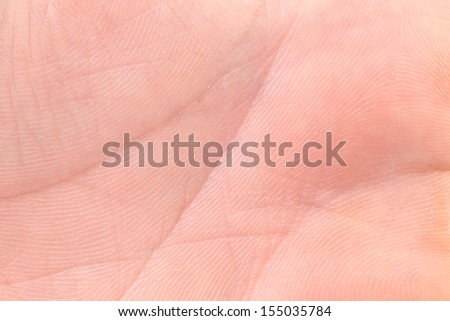 Background of hand palm