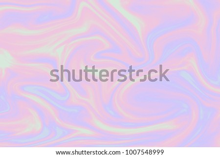 background of holographic foil in rainbow colors 80s trend design.