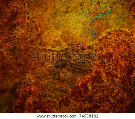 Background of iron rusty