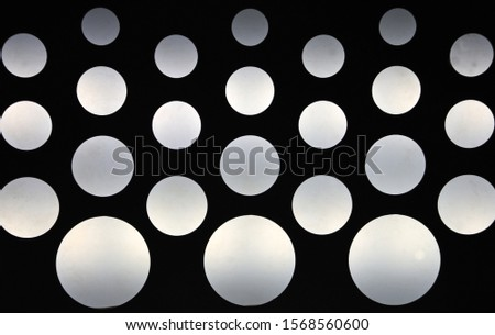 Background of lamps on the ceiling #1568560600