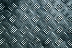 Background of metal with repetitive patten.
