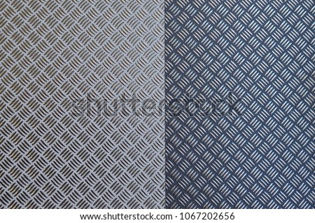 Background of metal with repetitive patten #1067202656