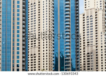 background of modern buildings