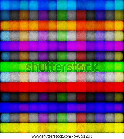 Background of multicolored squares. Illustration