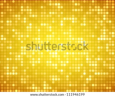 Background of multiples yellow dots