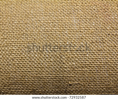 Background of Natural burlap hessian sacking