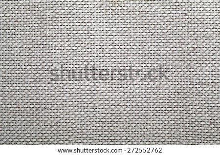 Background of natural linen fabric #272552762