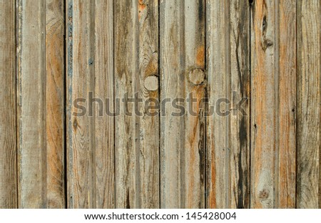 background of old boards covered with gray varnish