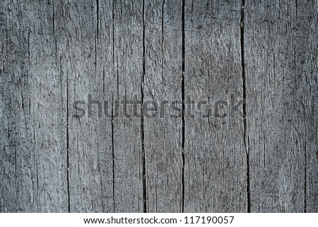 Background of old cracked wood.