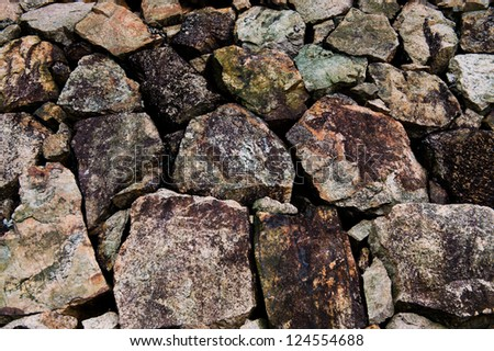 Background of old stone wall.