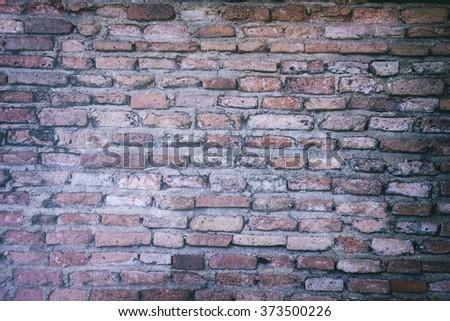 background of old vintage brick ...