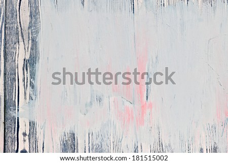Background of old wood wall with peeling paint