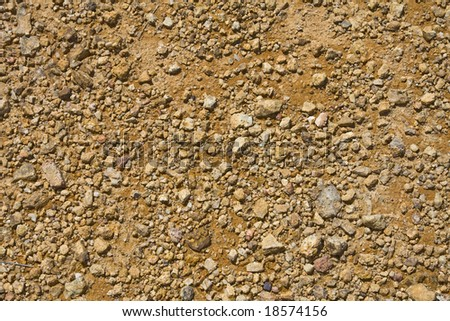 Background of orange rocks - stock photo