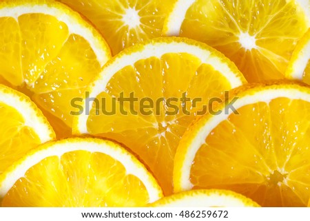 Background of orange slices. #486259672