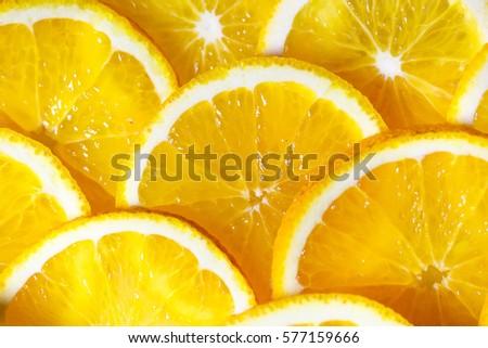 Background of orange slices. #577159666