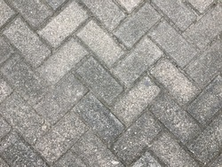 Background of Paving Stone Material