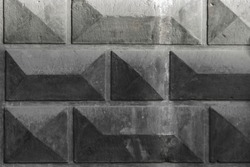 background of rectangles. facet. gray architectural background
