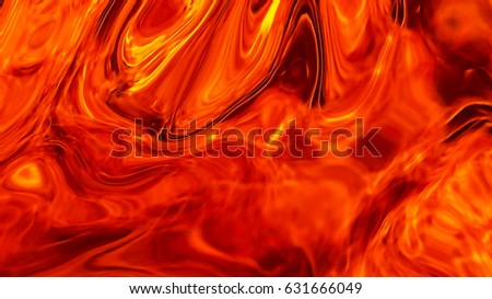 Stock Photo Background of red fire. Texture solid flame close. The flames fury.