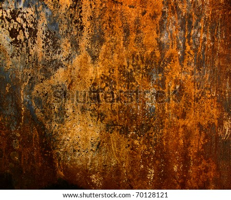 Background of rusty