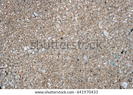 Background of sand and rocks #641970433