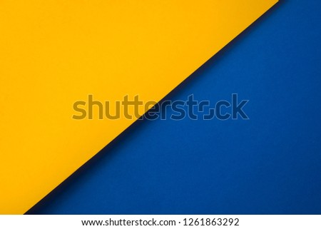 Background of shape and geometry. Colored background decorations with paper. #1261863292