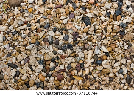 Background of small stones