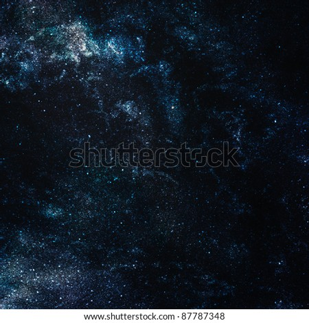 background of space with stars, abstract background