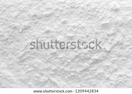 Background of Starch flour powder texture