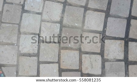 Background of stone floor texture. #558081235