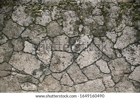 Background of stone wall texture photo stock photo