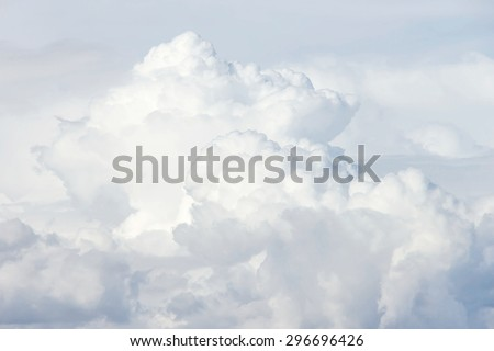 Background of storm clouds before a thunder storm