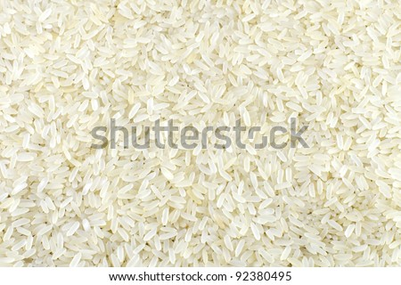 Background of the raw yellow rice grains