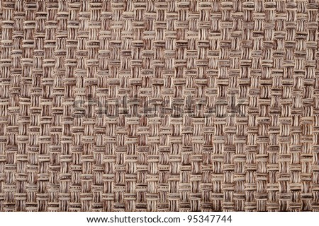 background of the woven fabric