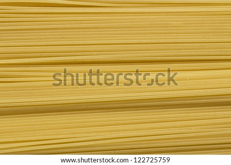 Background of uncooked  pasta Spaghetti