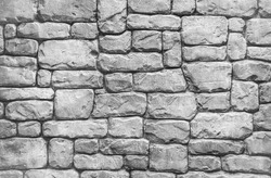 Background of unshape stone or rock wall