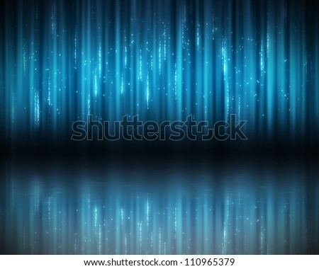 Background of vertical blue lines