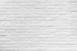 Background of white brick wall,copy space for text