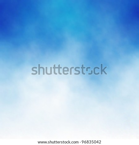 Background of white cloud detail in a blue sky